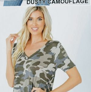 Camouflage its a girl thing NWT